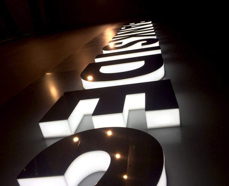 Illuminated Signs  Aspect Signs & Engraving