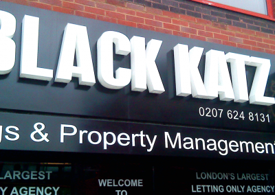 3D letters with LED illumination for your shop signs