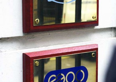Brass Plaques by Aspect Signs & Engraving. Sign Makers London