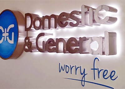 3D signs with illumination perfect for your workplace by Aspect Signs & Engraving. Sign Makers