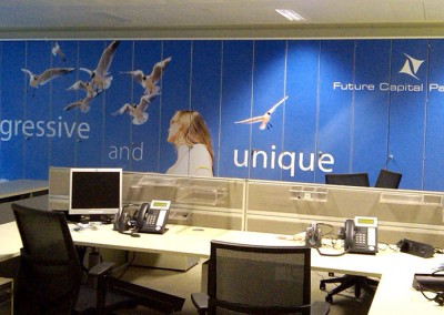 Versatile vinyl graphics, perfect for wall graphics and manifestation