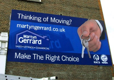 Aluminium signs with full vinyl graphics to face by Aspect Signs & Engraving. Sign Makers London