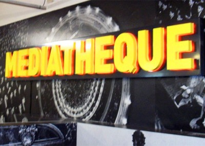 3D LED signs perfect for workplace branding