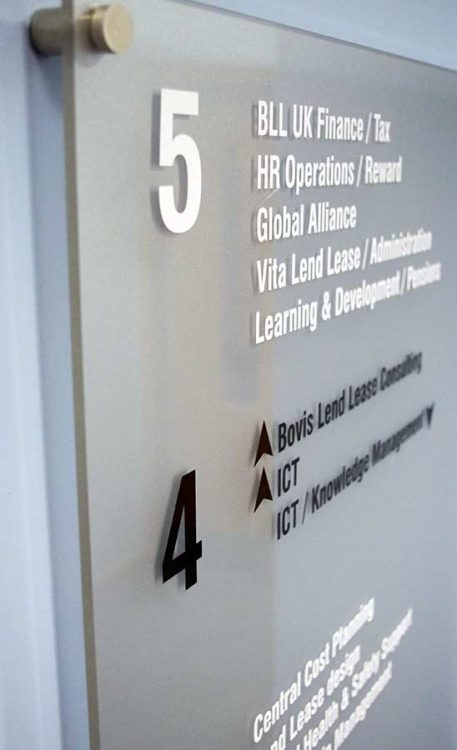 Aspect Signs Amp Engraving Professional Perspex Signs
