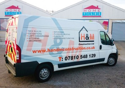 Full printed van graphics