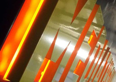 3D signs and letters with LED illumination perfect for branding your workplace