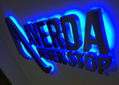3D Backlit illuminated signs